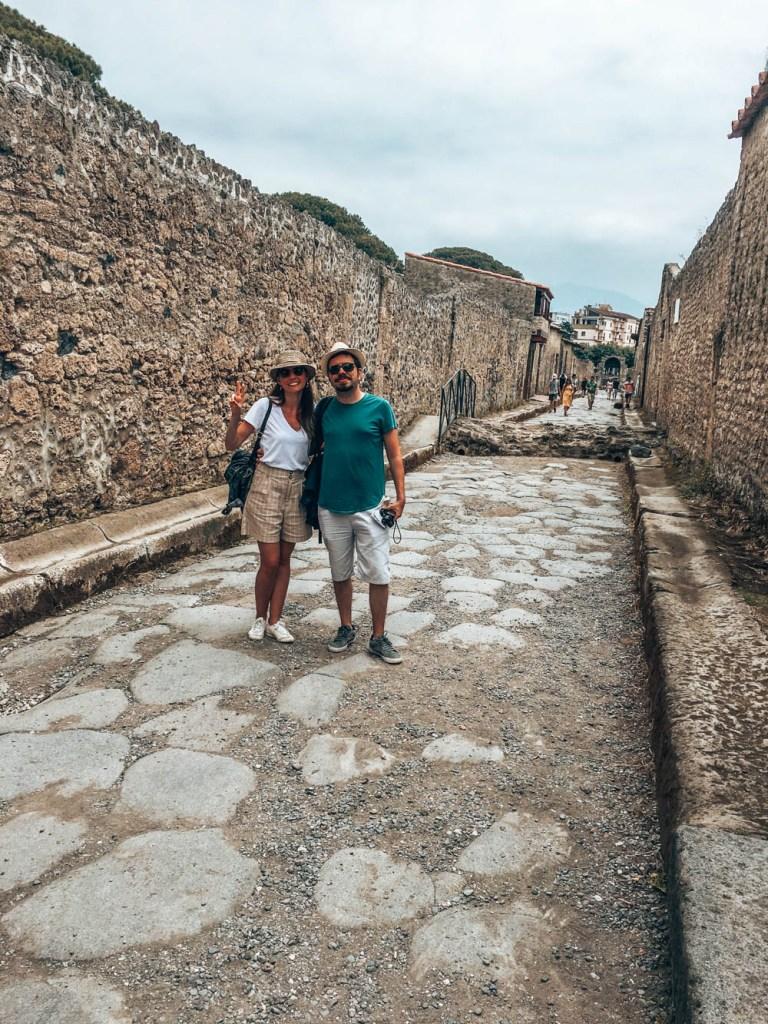 Pompei Sokakları İtalya