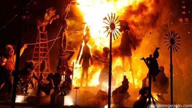Valencia Fallas Festival