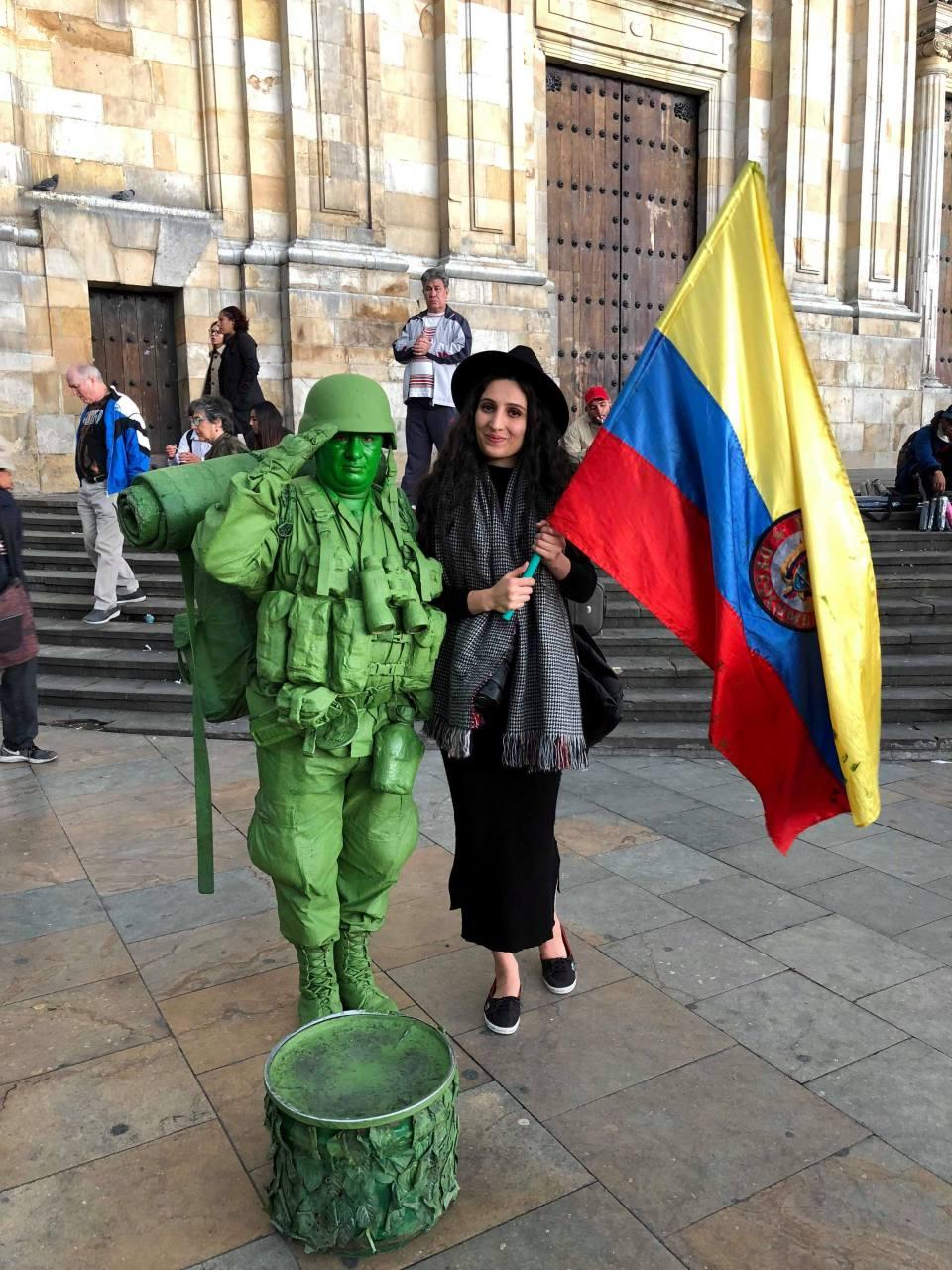 Plaze de Bolivar-Bogota-Kolombiya