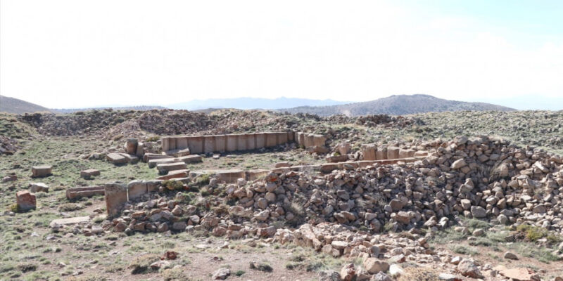 Niğde'de 2 bin metre yükseklikte bir antik kent