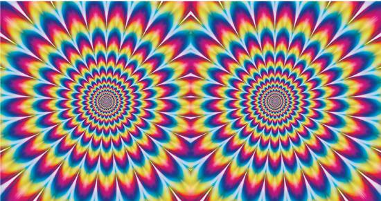 Bewegende Kleurencirkel 1