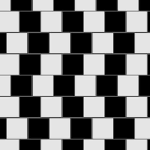 optische illusie - horizontaal