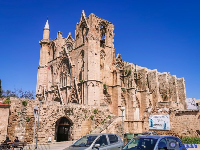 Lala Mustafa paşa camisi, Aziz nikolas kilisesi