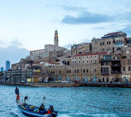 Eski Yafa ve Old Jaffa Port