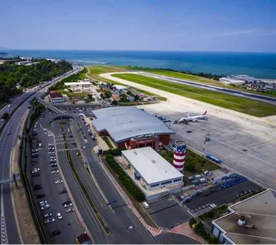 Trabzon Uluslararası Havalimanı (TZX)