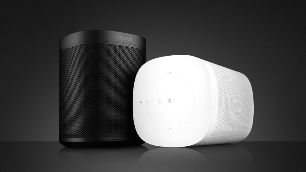 Sonos One wit & zwart