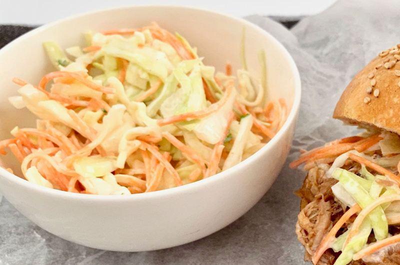 Makkelijk coleslaw recept voor bij de Pulled Pork