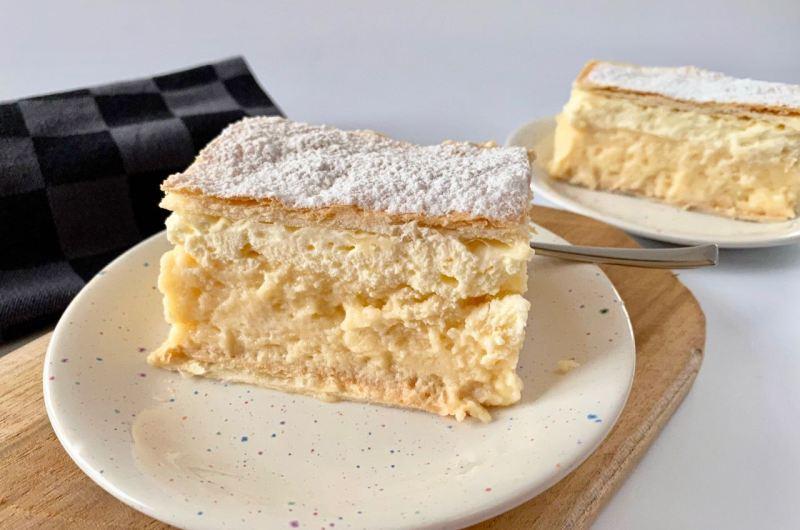 Crèmeschnitte uit Slovenië