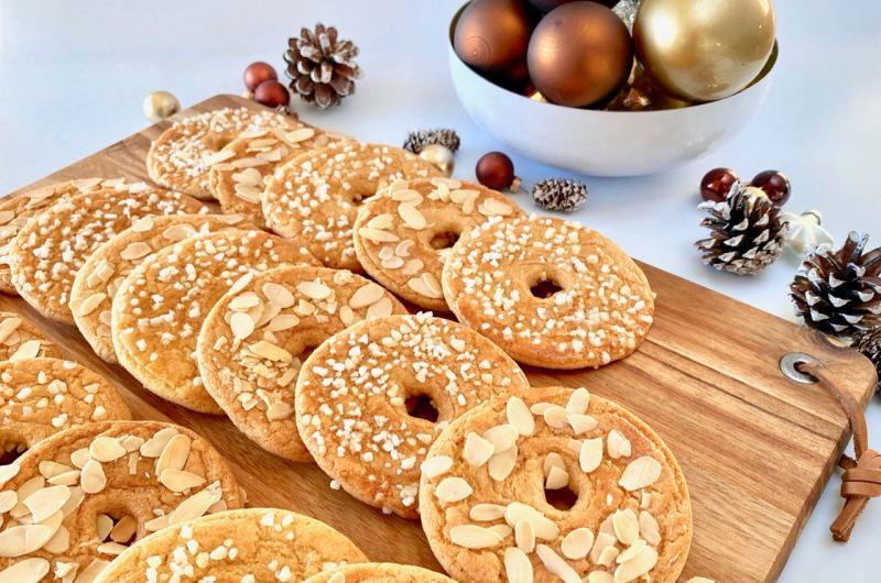 Kerstkransjes recept van Rutger van den Broek
