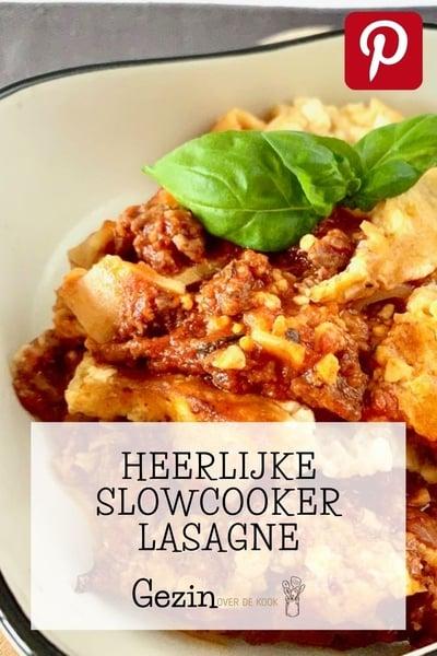 slowcooker lasagne