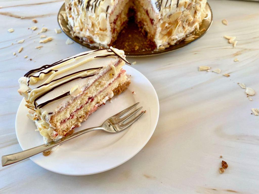 Noorse White Lady cake