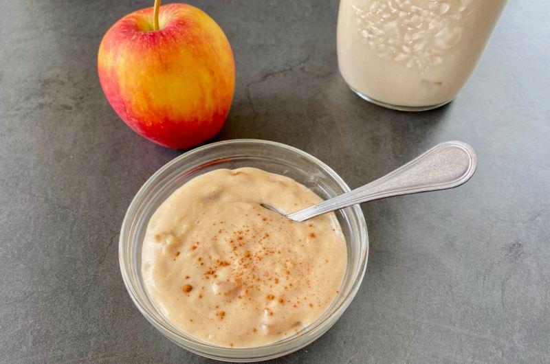 Appel kaneelvla maken is appeltje eitje