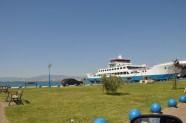 Feribot Keramoti limanında