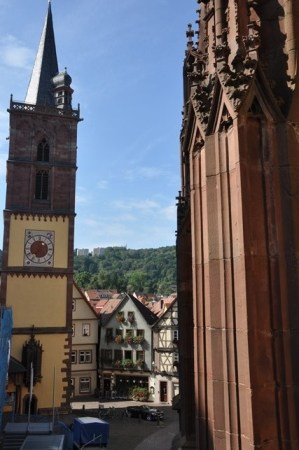 Kilise ve saat kulesi