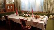 Otelimizdeki yemek masamız
