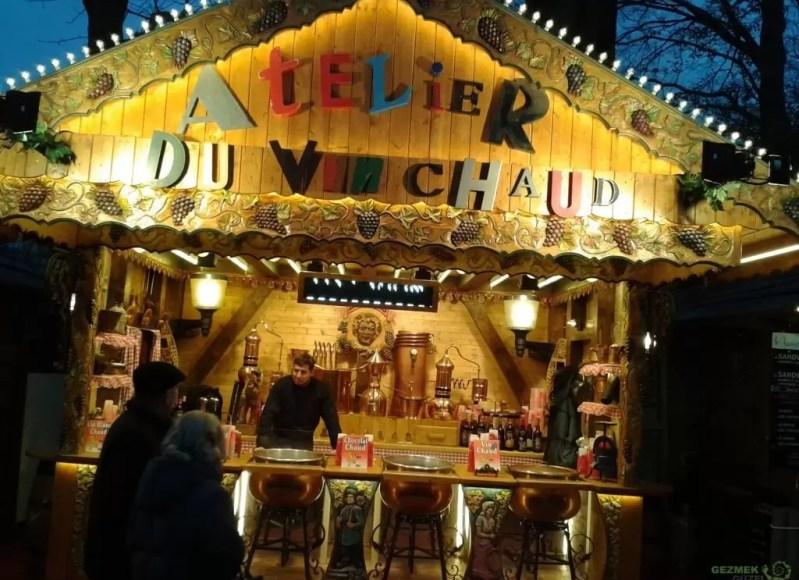 Noel Pazarı - Pariste Noel