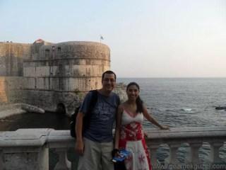 Dubrovnik Eski Kent Girişinde, Dubrovnik Anıları, Eski Yugoslavya Yollarında