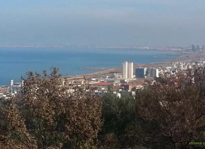 Hama'nın Deneme Bahçesi – Makam-ı Şehit'den Akdeniz Manzarası
