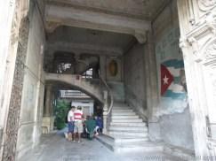 Küba Gezisi Notları, Havana Gezilecek Yerler, Paladar La Guarida Girişi