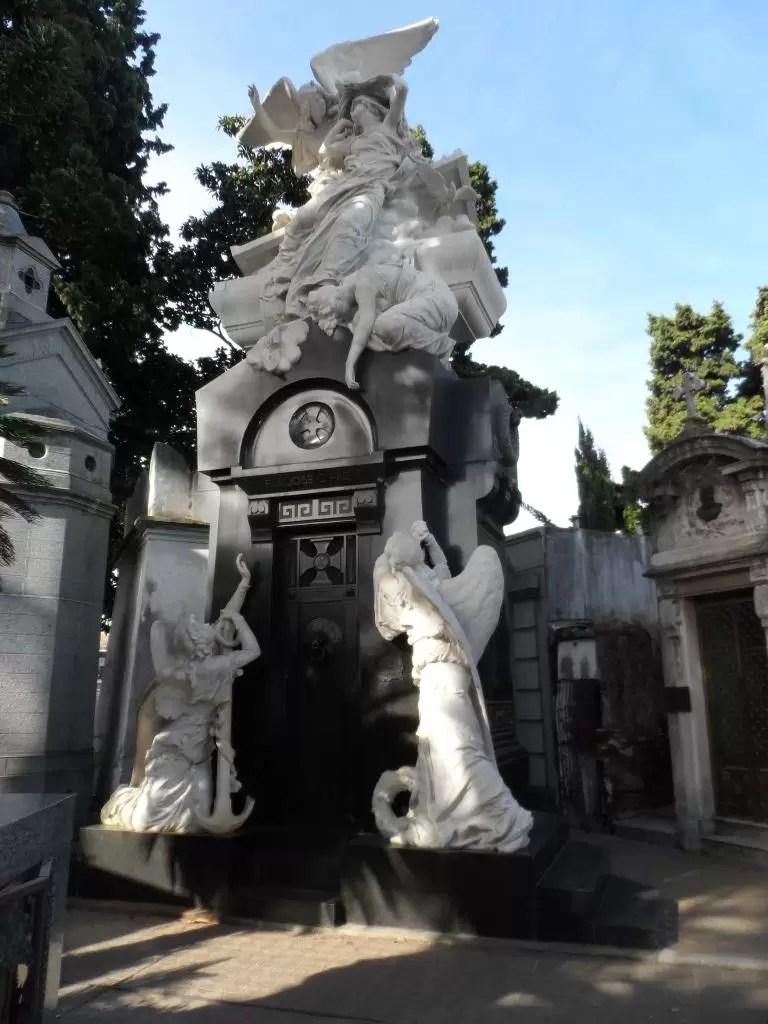 Recoletta mezarlığı