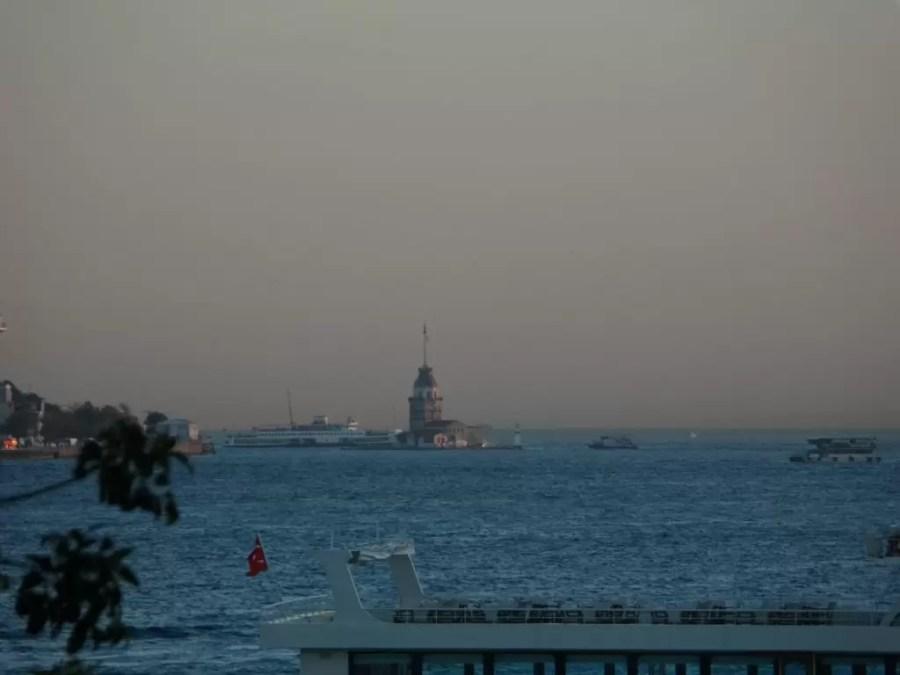 Ortaköy'den Kız Kulesi