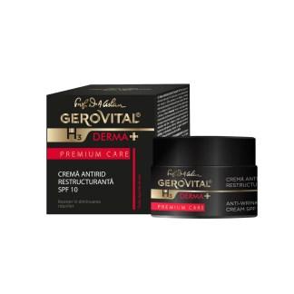 Gerovital Derma+ Anti-Rimpel Restructuring SPF10 Dagcrème 50ml