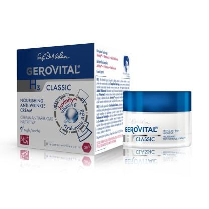 Gerovital nourishing anti wrinkle cream classic