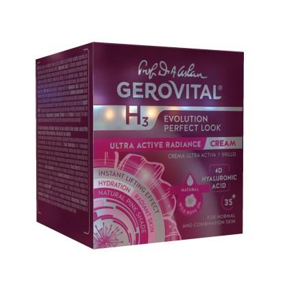 294 Evolution Ultra Active Radiance Cream Hyaluronic Acid Gerovital 3