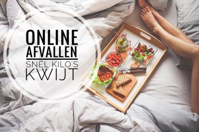 online afvallen snel kilo's kwijt