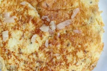 Bloemkoolrijst omelet
