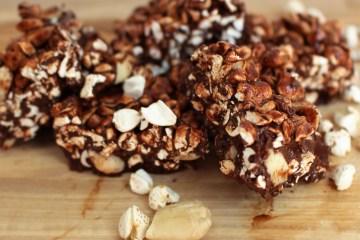 recept voor gezonde crunche chocolade reepjes