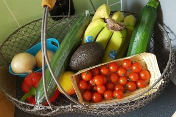 groenten en fruit in mijn keuken