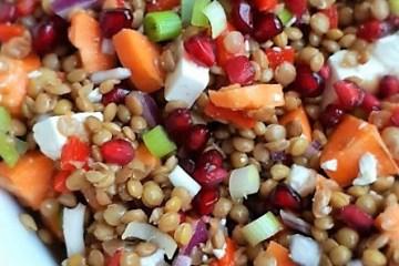 Linzen salade