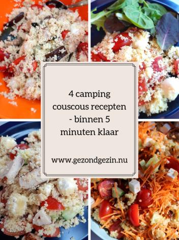 4 camping couscous recepten