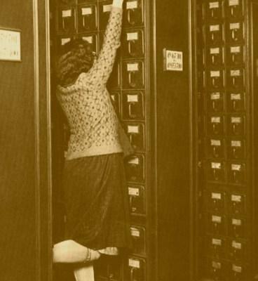 Kantoorlijf onderhoud; Inefficiënt is efficiënt, en laagdrempelig uitdeuken
