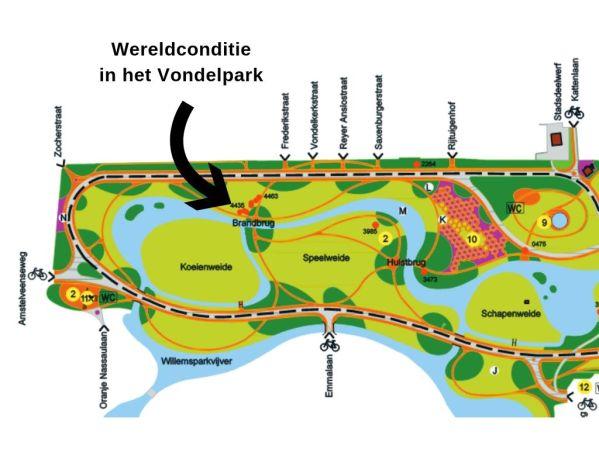 Wereldconditie in het Vondelpark, gezondheid-workshops.nl