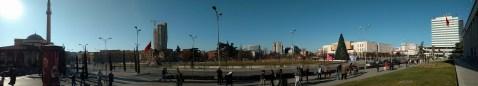 Skanderbergplatz in Zentrum von Tirana