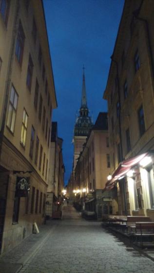 Nachts unterwegs in gamla stan