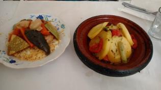 Abendessen Tagine und Couscous