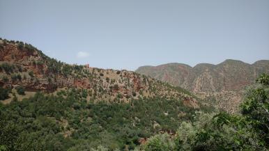 Ausblick aufs Atlasgebirge