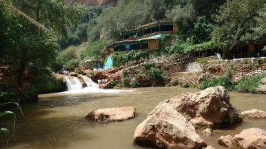 Kleine Vorschau auf die Wasserfälle