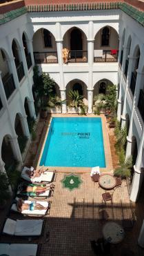 Mein Hostel - mit Pool :)