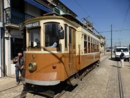 Historische Tram in Porto
