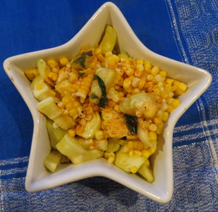 Corn and Summer Squash Salad