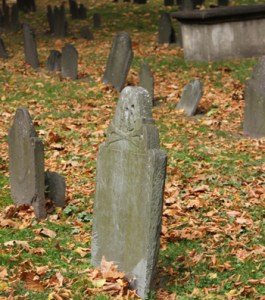 Granary Burying Ground Gravestones