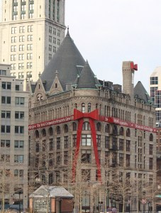 Bow on Building