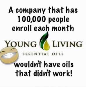Young Living works!