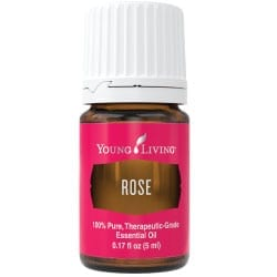 Rose essential oil, 5 ml.