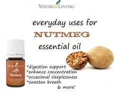 Nutmeg uses