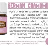 german chamomile uses